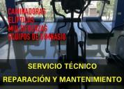 ReparaciÓn y mantenimiento de caminadoras, ejercitadores