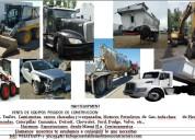 Venta de equipo pesado de construccion y demolicion