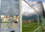 Redes de futbol para arcos en nylon poliuretano