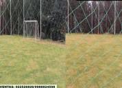 Mallas de canchas de futbol