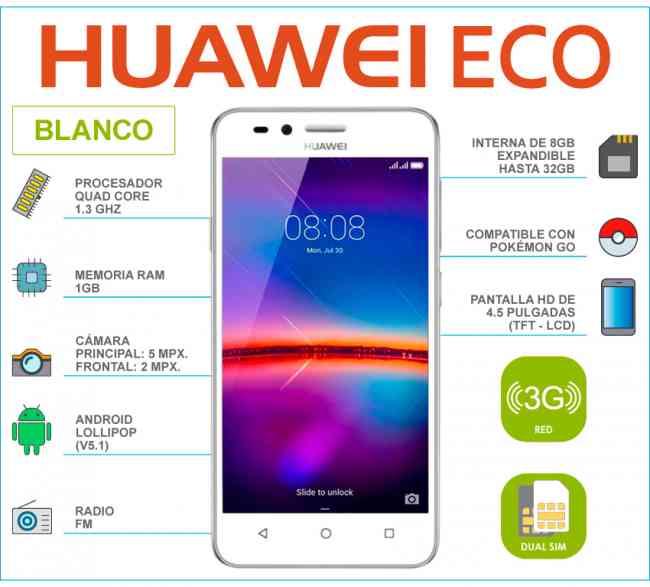 Vendo Huawei Eco Nuevo