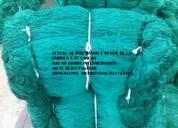 Mallas de nylon para cercar los perimetros de canchas de futbol
