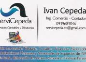 Servicios contables y tributarios cepeda servicepeda
