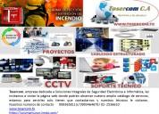 Cableado estructurado y cámaras de seguridad