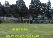 Mallas de nylon para canchas deportivas en ecuador