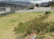 Vendo terreno de 586 m2 en otavalo - miravalle