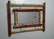 Vendo ste juego de sala de bambu recien hecho con 3 obsequios gratis x la compra