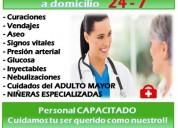 Servicio de enfermería auxiliar