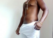 Moreno dotado actor africano porno gay