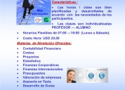 Tutorias en el area financiera