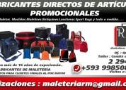 Articulos promocionales para empresas fabricantes directos