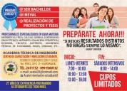 Clases particulares: capacitación estudiantil y universitaria