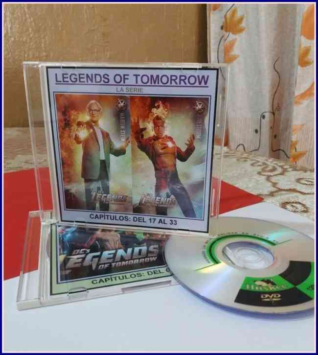 SERIE- THE LEGENDS OF TOMORROW