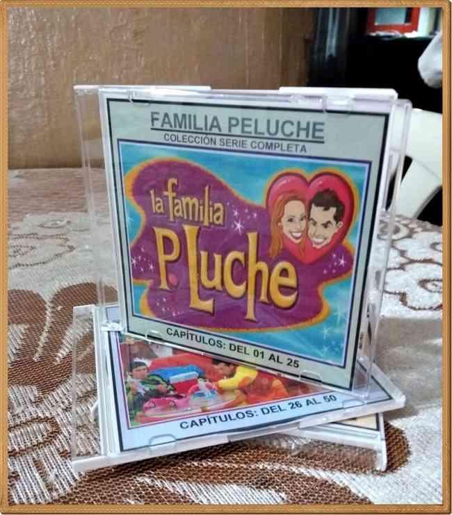 DVD- LA FAMILIA PELUCHE