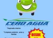 Lavado de autos a domicilio ecologico guayaquil y samborondon