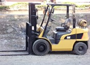 Montacarga caterpillar gp30nm aÑo 2007 3 toneladas $14900 negociable