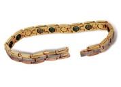 Bío brazalete magnético con piezas de jade