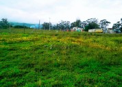 Vendo terreno de 2.950 m2 en pifo via a papallacta