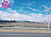 Vendo terrenos en pifo cerca a la via principal al aeropuerto