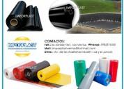 Fundas y rollos plásticos con o sin impresión