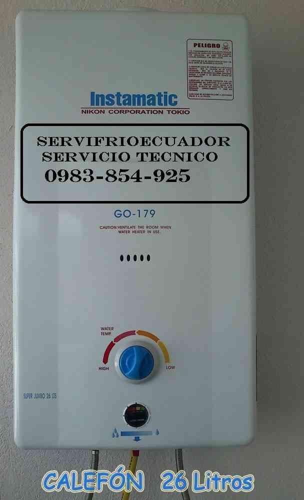 Reparaciones con garantía total 097*876*8191 Lavadoras Refrigeradoras Calefones Secadoras