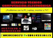 Servicio técnico en electrónica y computación