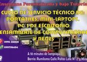Curso de ensamblaje y reparación de computadoras