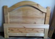 Oferta: vendo cama de pino e incluye colchón