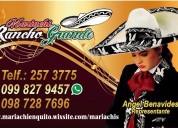 "Mariachi de quito ""rancho grande"" 2573775 serenata completa"