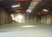 Alquilo oportunidad  bodega  1.200 m2 av. juan tanca marengo,guayaquil