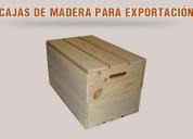 Pallets de madera para exportación,cajas de madera ,  madera para construcción y más.