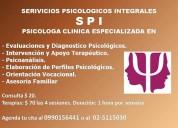 Servicios psicologicos integrales - spi - psicologos en quito