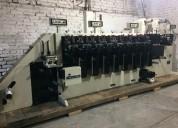 Vendo prensa flexográfica webtron 750