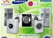 Reparación de lavadoras refrigeradoras calefones
