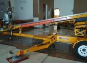 Manlift en alquiler para trabajo de mantenimiento, pintura y limpieza
