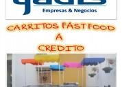 A credito coches de comida rapida