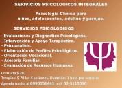 Psicólogos en quito. psicología clínica. terapias psicológicas