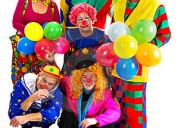 !!fiestas infantiles, show divertdos payasos, payasas, personajes tv. mago, mimo,, inflables!!!$50