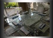 Alquiler sala vintage, silla ghost luis xv, silla tiffany en acrilico