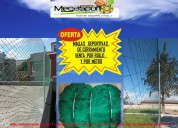 Mallas de nylon en nylon resistente a la intemperie y contragolpe