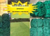 Mallas importadas gruesas de nylon