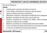 Cursos de access en guayaquil