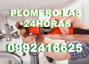 Plomeria 24 horas plomeros soldamos cobre 0992416625//**2306296