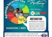 El mejor locutor del ecuador, dicta curso de locuciÓn de radio