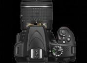 Camara digital nikon d3400 con lente 24.2mp 18-55m oferta ecuador