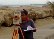 Levantamiento topograficos,mediciones de terrenos