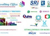 Declaraciones de impuestos sri y contabilidades