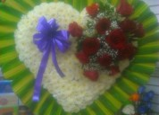 Ofrenda de flores condolencias, la floreria, rosas, arreglos