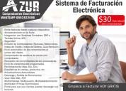 Sistema de facturación electrónica azur