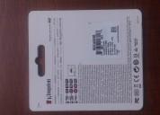 Tarjeta de memoria. micro sd 8gb.  $11